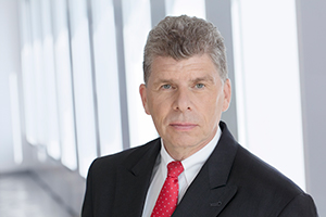 Portrait of Dr. Matthias Danne, Member of the Board of Management