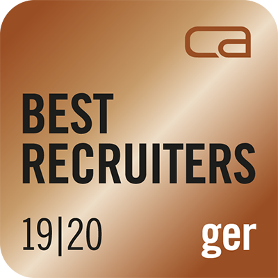 Logo Best Recruiters by Career
