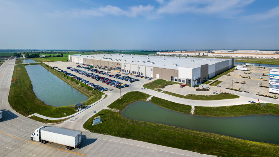 "Logistikgebäude ""The gateway Amazon Distribution Center"" in St. Louis, USA"