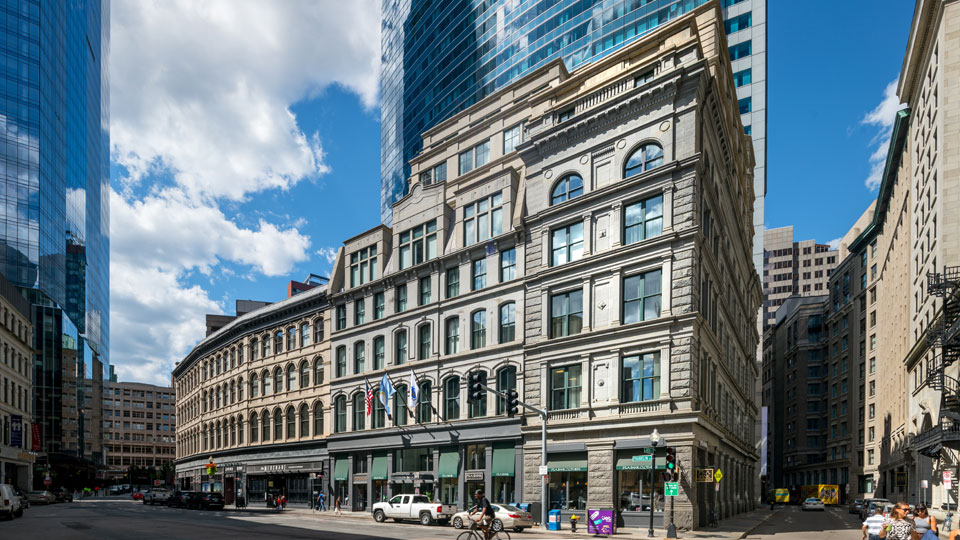 "Bürogebäude ""70 Franklin Street"" in Boston, USA"